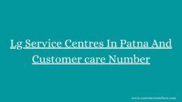 Lg Service Centres In Patna