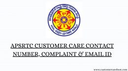 APSRTC Customer Care Contact Number
