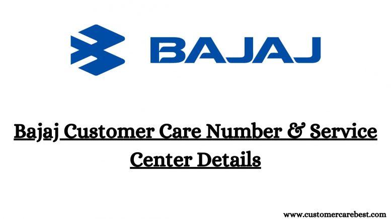 Bajaj Customer Care Number & Service Center Details