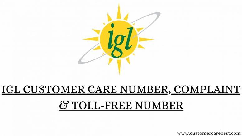 IGL customer care Number