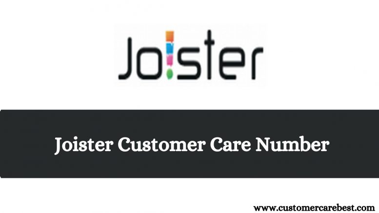 Joister Customer Care Number