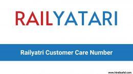 Railyatri Customer Care Number