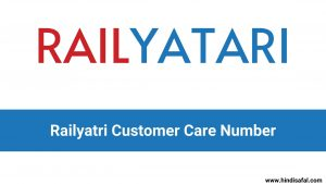Railyatri Customer Care Number