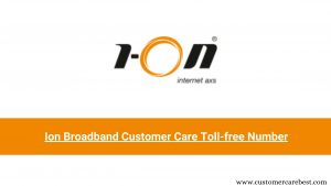 Ion Broadband Customer Care Toll-free Number