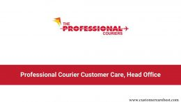 Professional Courier Customer Care