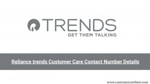 Reliance trends Customer Care, Email id & Contact Number Details