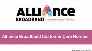 Alliance Broadband Customer Care Number