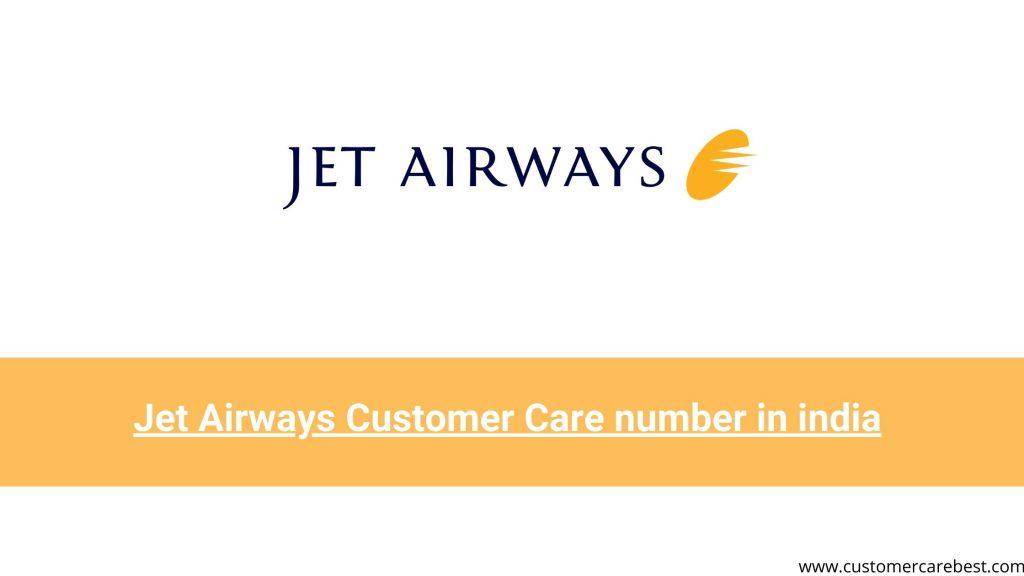 Jet Airways Customer Care number in india