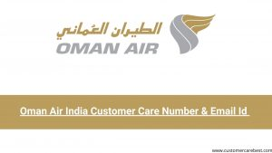 Oman Air India Customer Care & Email Id